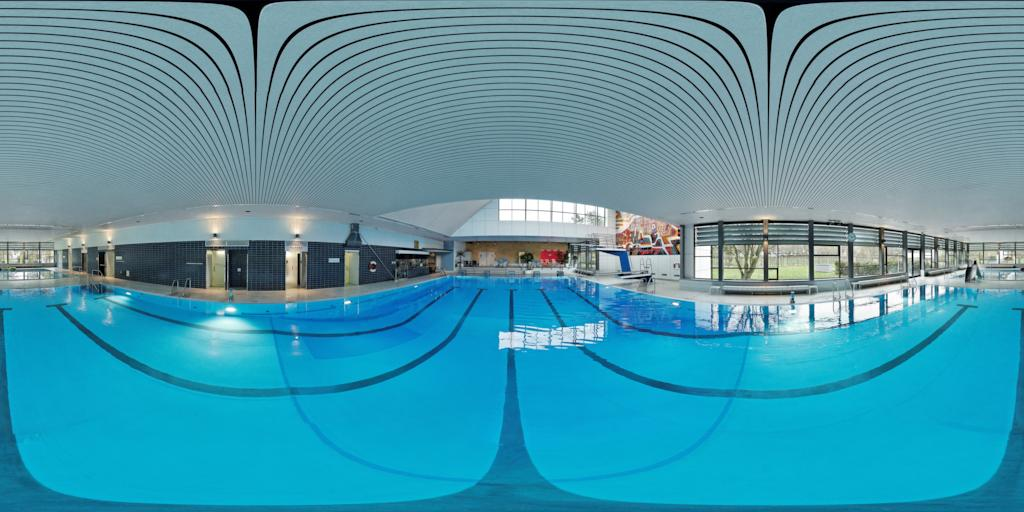 360Grad Ansicht des Hallenbad Mössingen