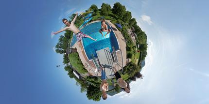 360Grad Panorama Freibad