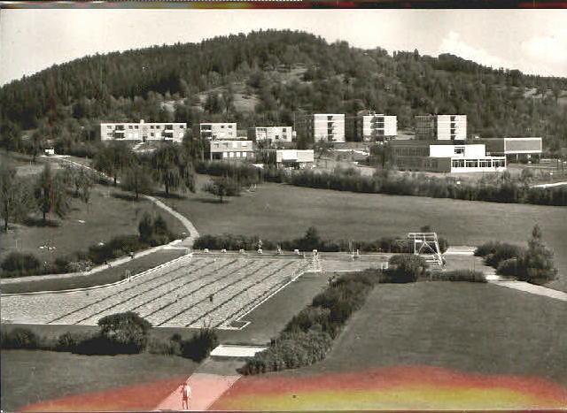 Freibad in den 60er Jahren