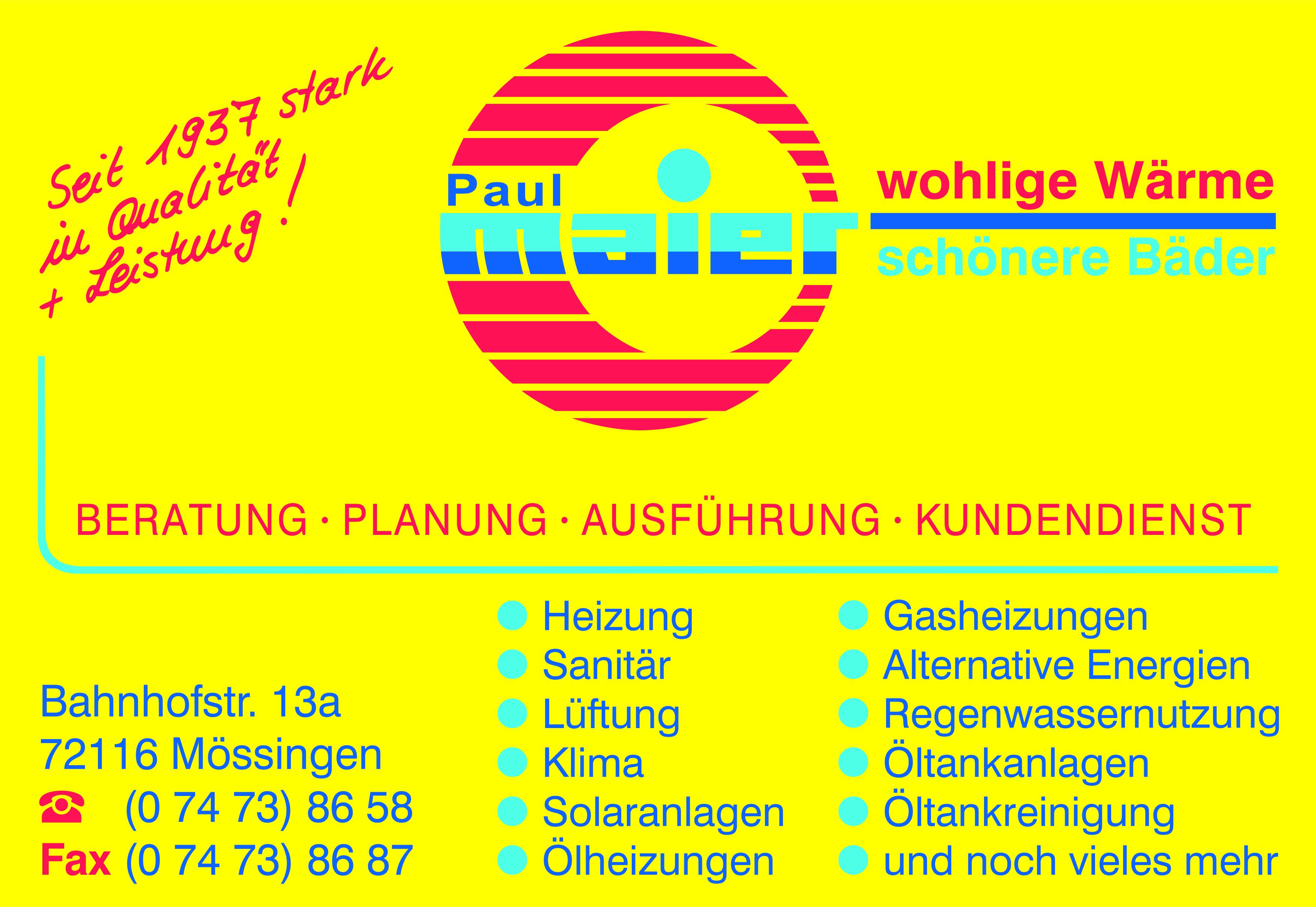 Paul Maier wohlige Wärme - schöne Bäder